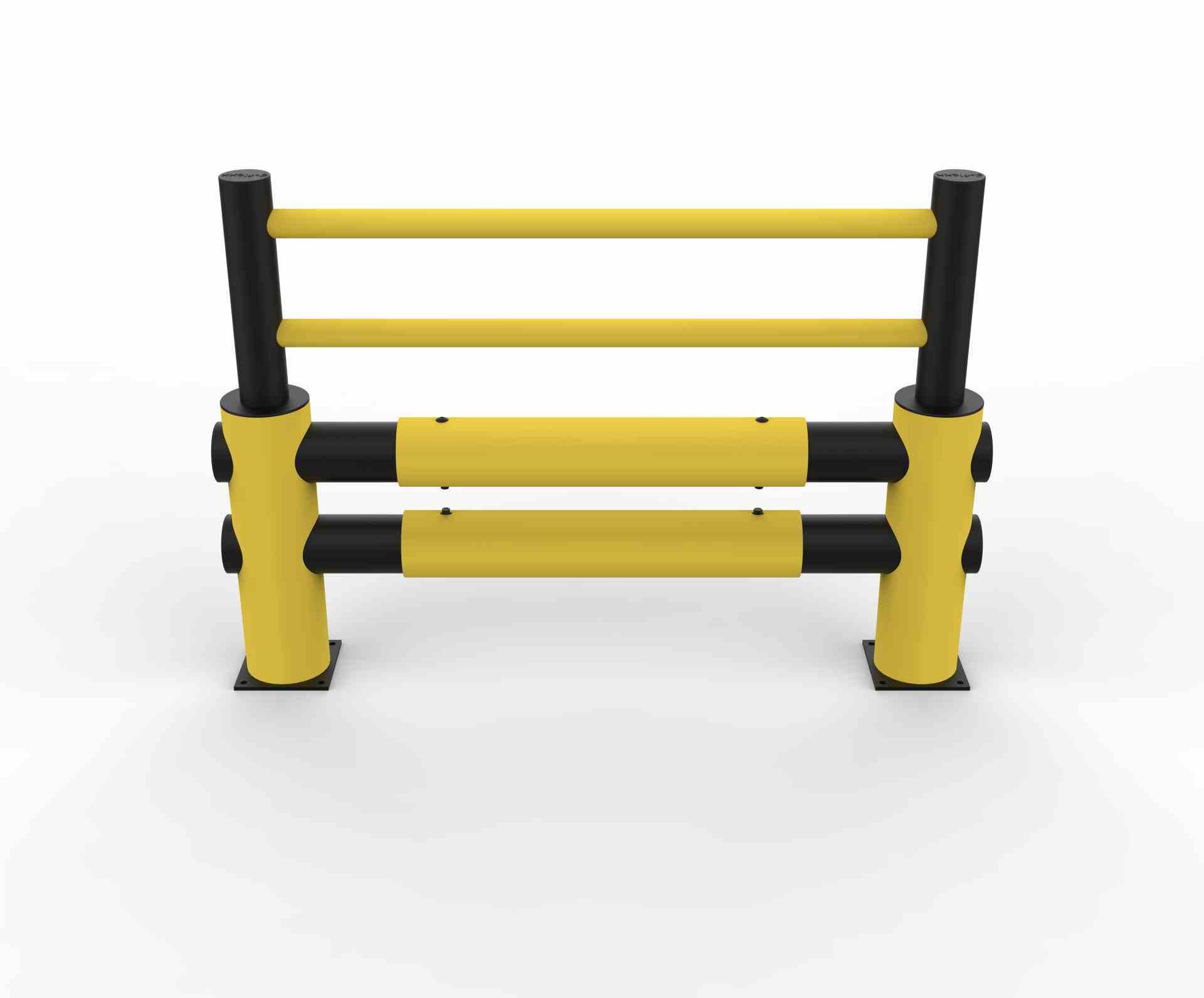 Modułowa elastyczna bariera wzmocniona L