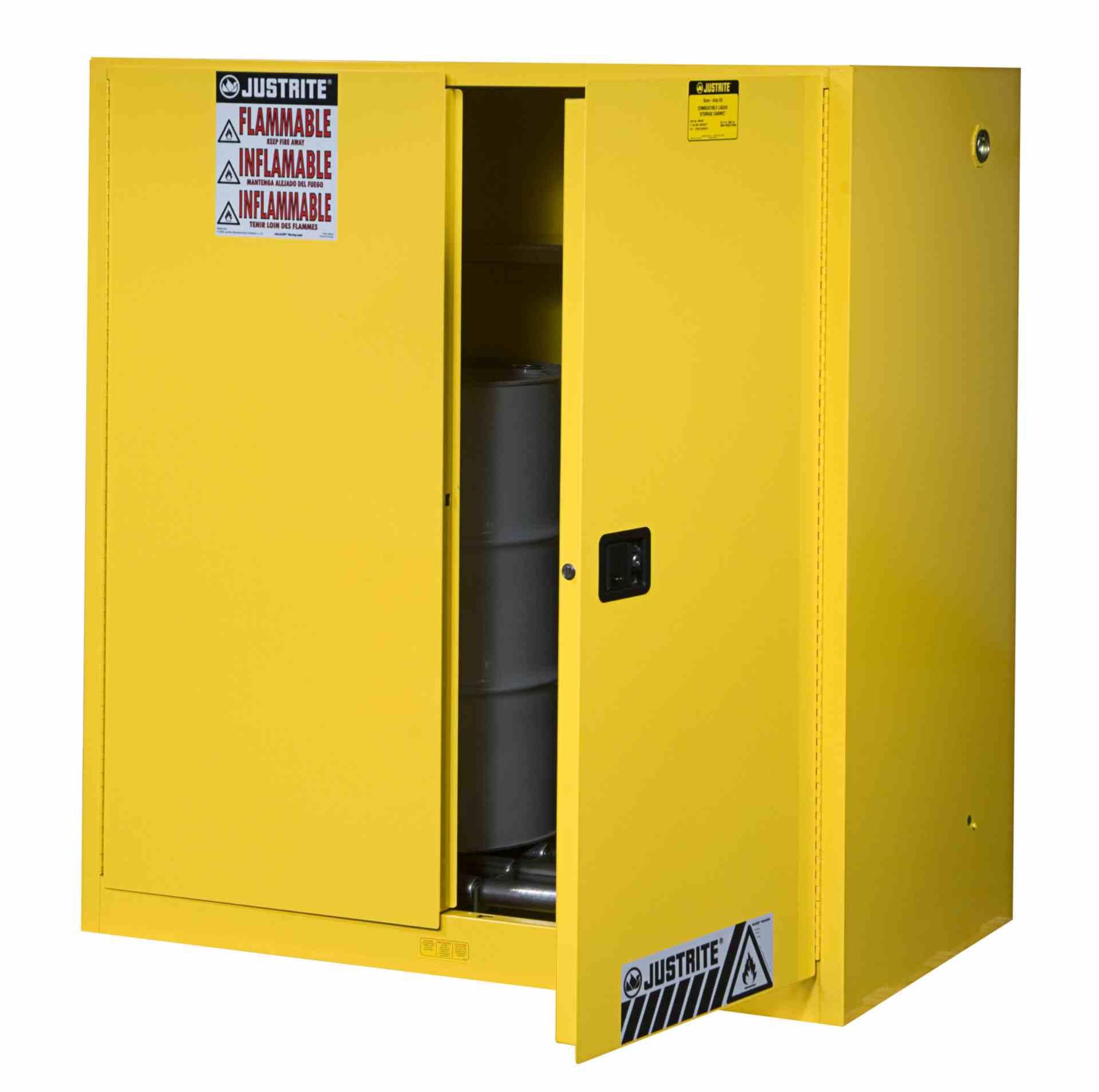 Szafa zabezpieczająca 2 x 110 l. dwudrzwiowa zamknięcie automatyczne 1651 x 1092 x 864 mm