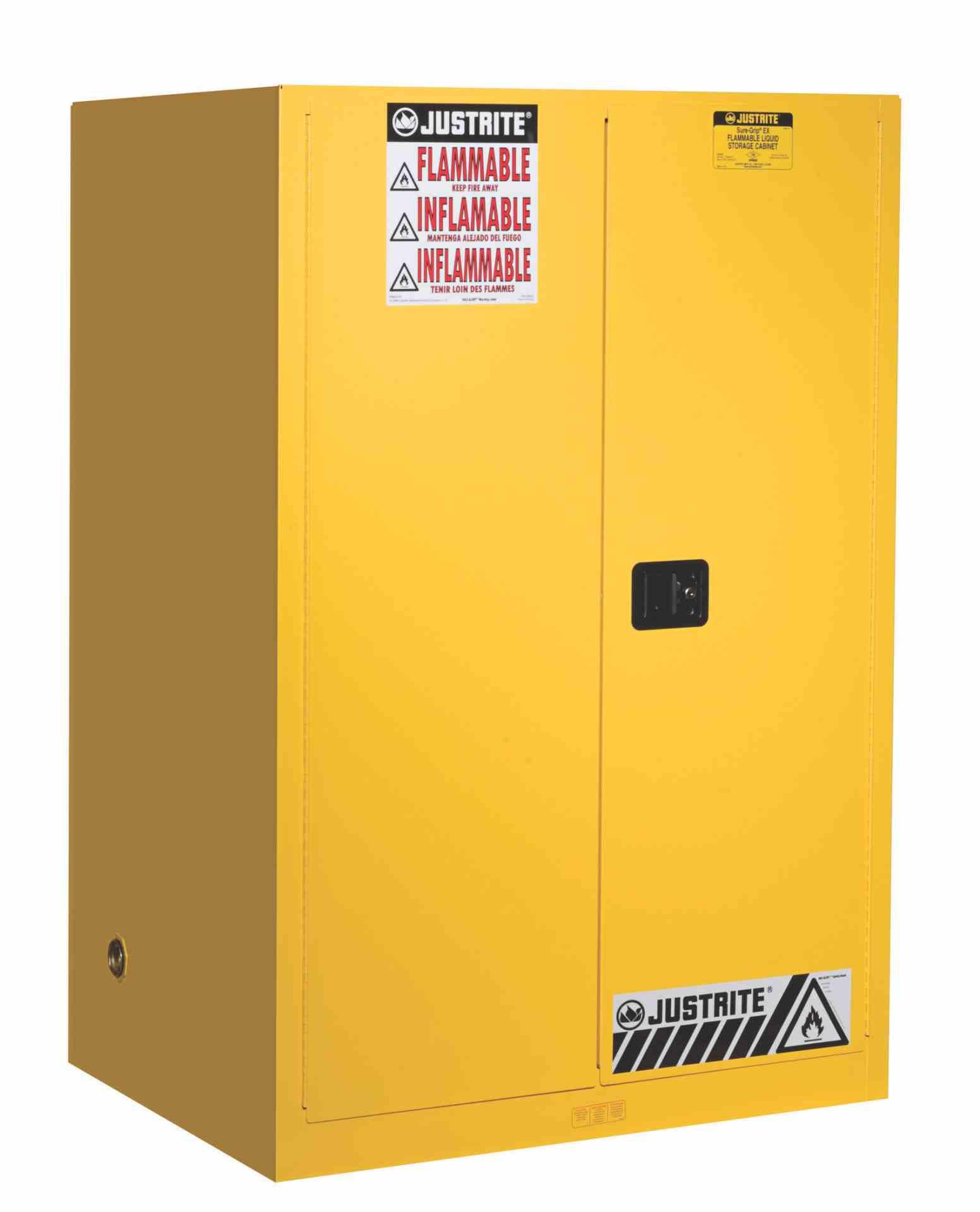Szafa zabezpieczająca 341 l. dwudrzwiowa zamknięcie automatyczne 1651 x 1092 x 864 mm