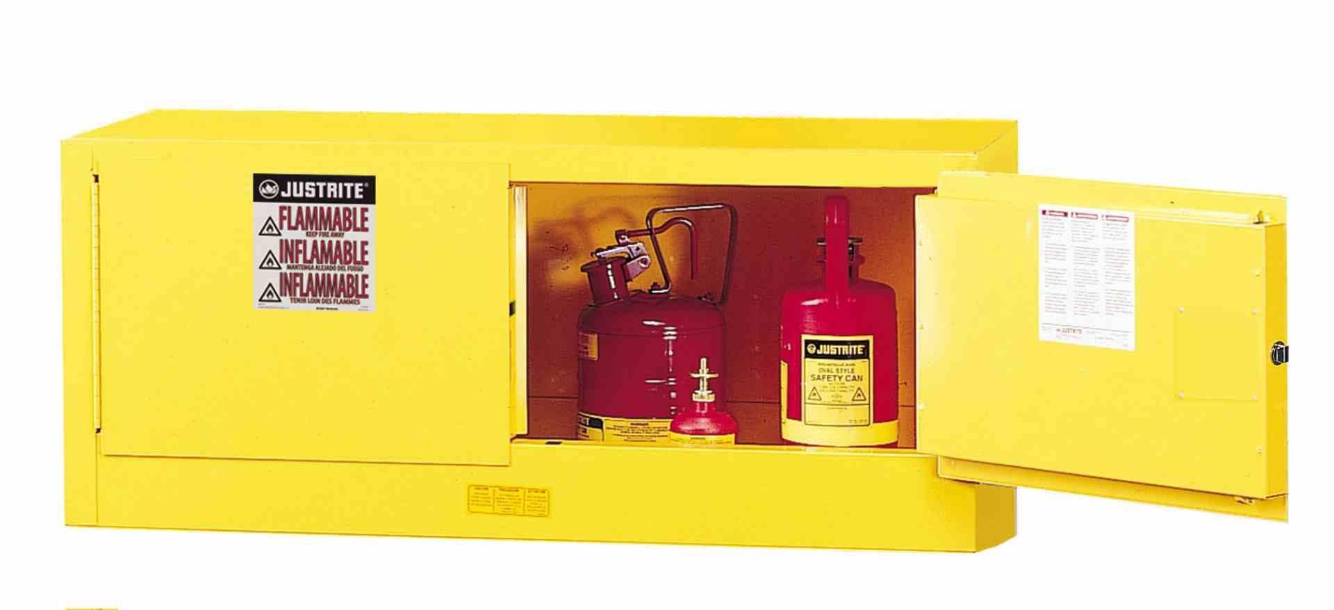 Szafa zabezpieczająca nadstawkowa 45 l. dwudrzwiowa zamknięcie ręczne 457 x 1092 x 457 mm