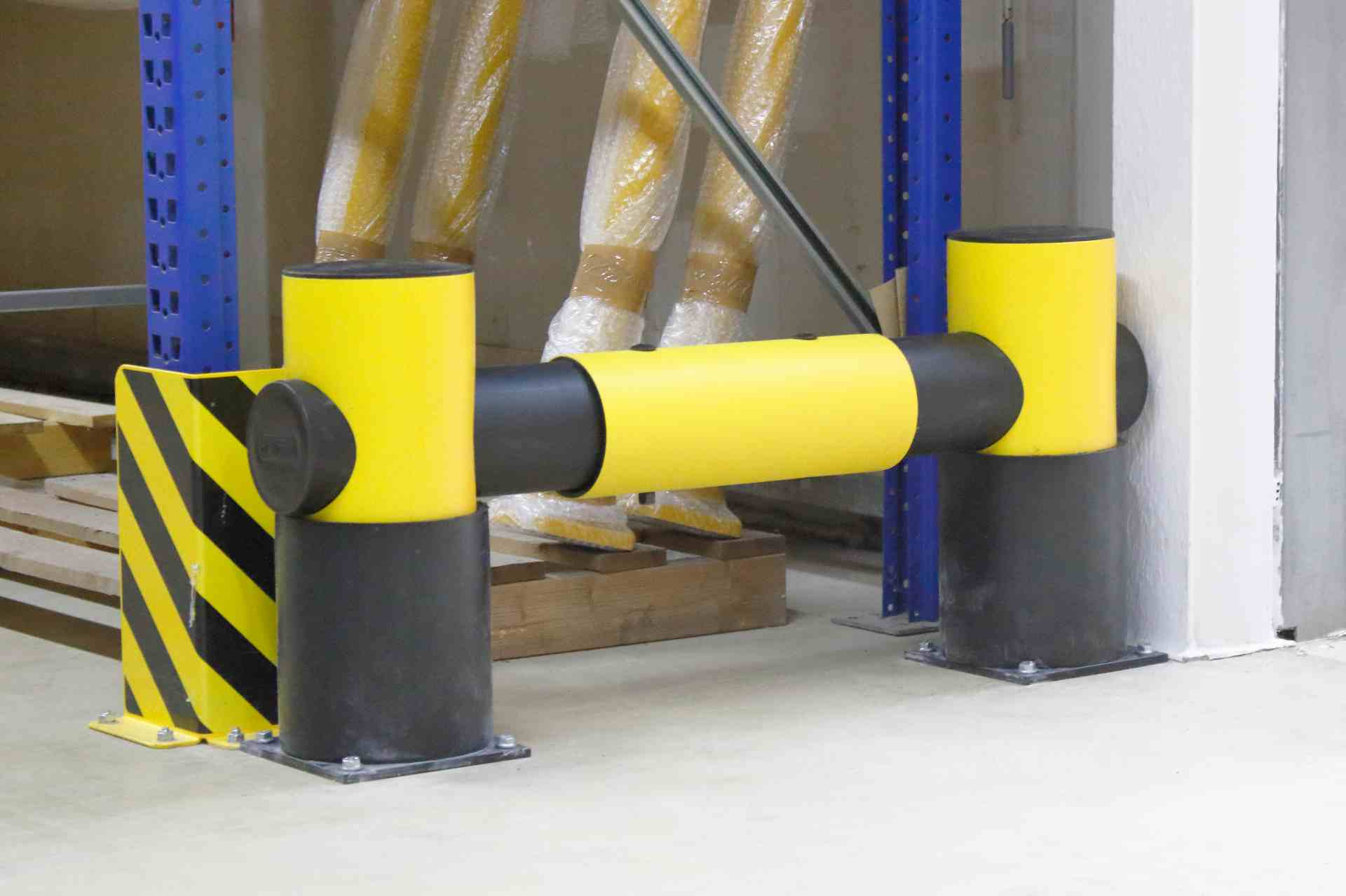 Elastyczna bariera G 1- rzędowa długość 1100 mm, wysokość 516 mm