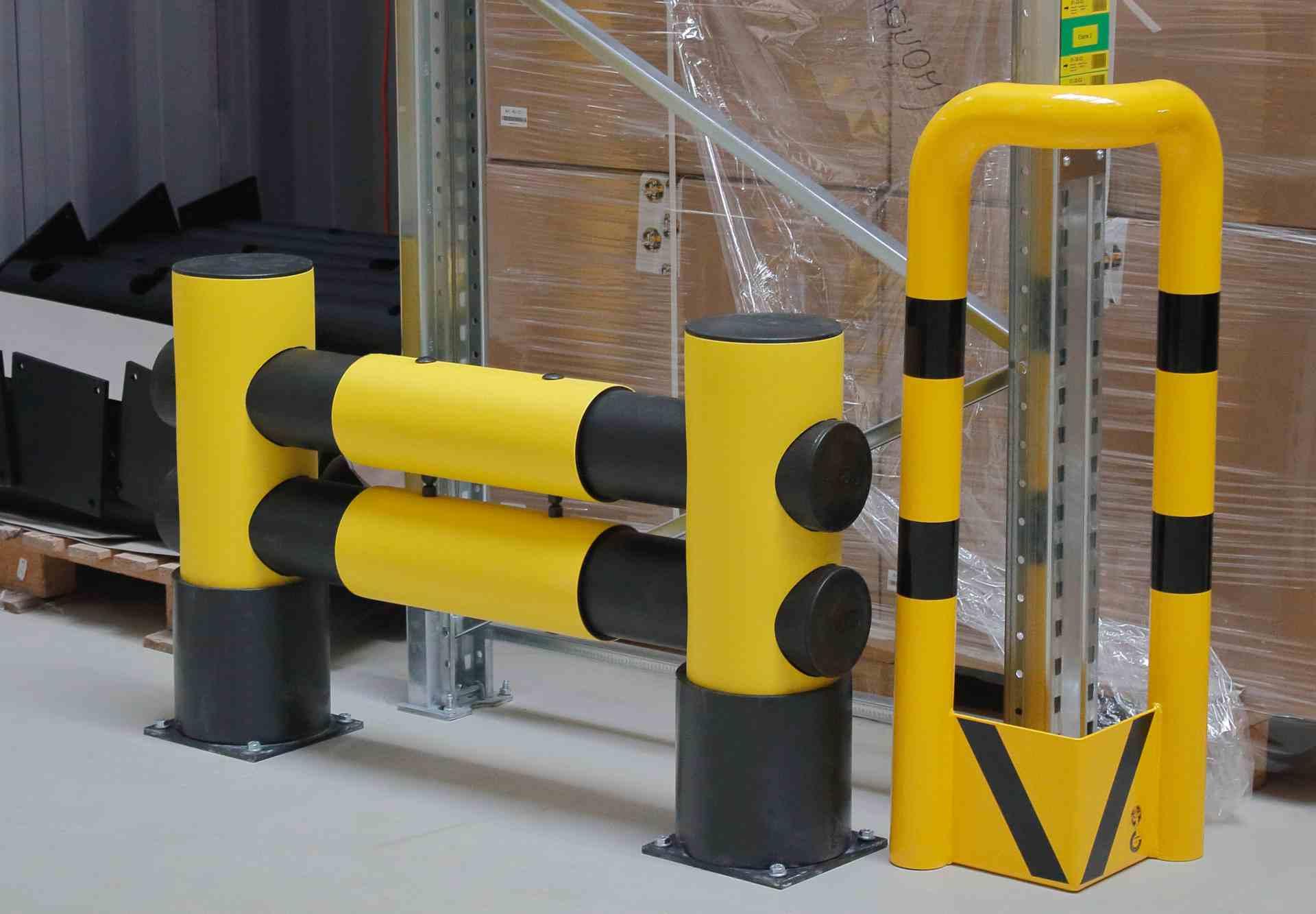 Elastyczna bariera G 2- rzędowa długość 1100 mm, wysokość 750 mm