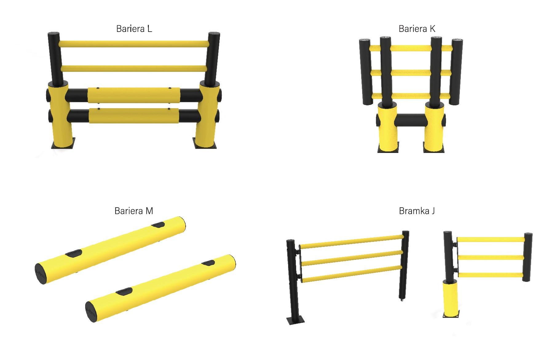 bramki bezpieczeństwaprzemysłowe, bariery elastyczne