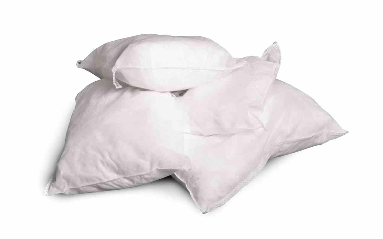 Sorbent, poduszka tylko do oleju, 25 cm x 25 cm, 25 szt, 4 kg