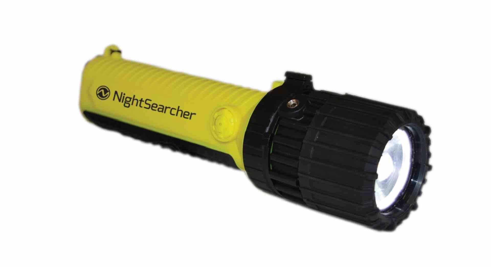 Latarka ręczna LED ZOOM w wykonaniu przeciwwybuchowym ATEX EX