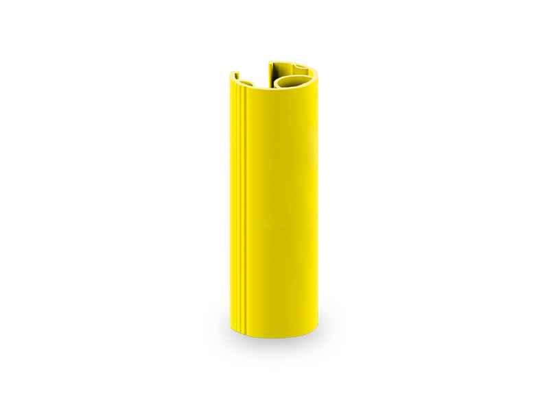 Odbojnica na regały magazynowe RP o szerokości 60-80 mm, wysokość 600 mm