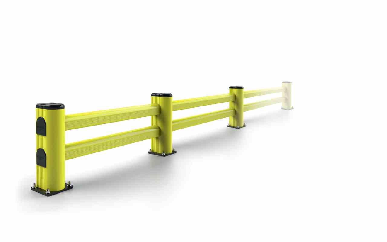 Modułowa elastyczna bariera L 500 x 1100 mm - standardowy wymiar