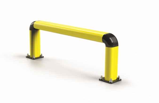 Modułowa elastyczna bariera F1 350 x 1100 mm - standardowy wymiar
