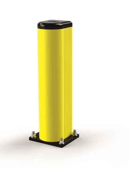 Elastyczny słup ochronny szerokość 90 mm, wysokość 250 mm
