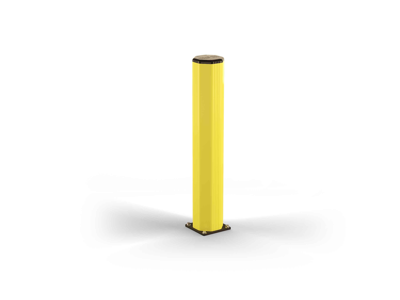 Elastyczny wzmocniony słup ochronny szerokość 230 mm, wysokość 1200 mm