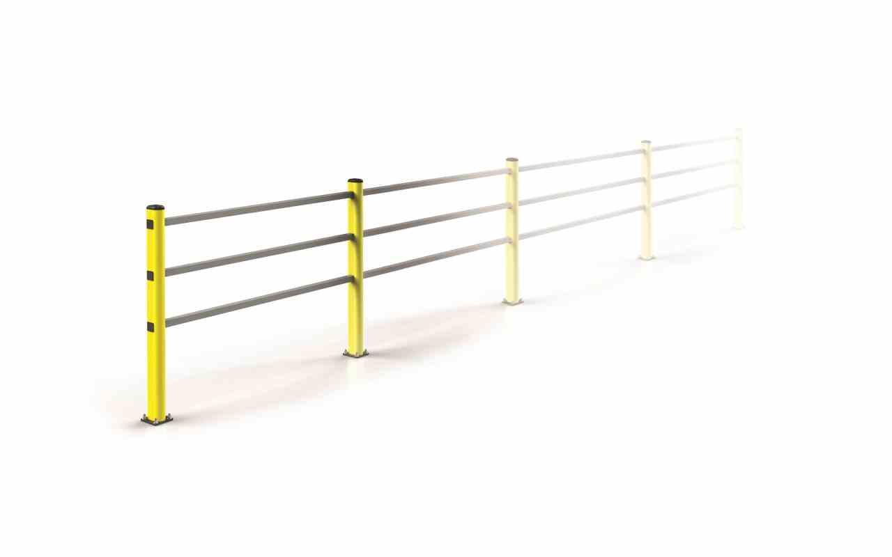 Modułowa elastyczna bariera H 1150 mm x mb