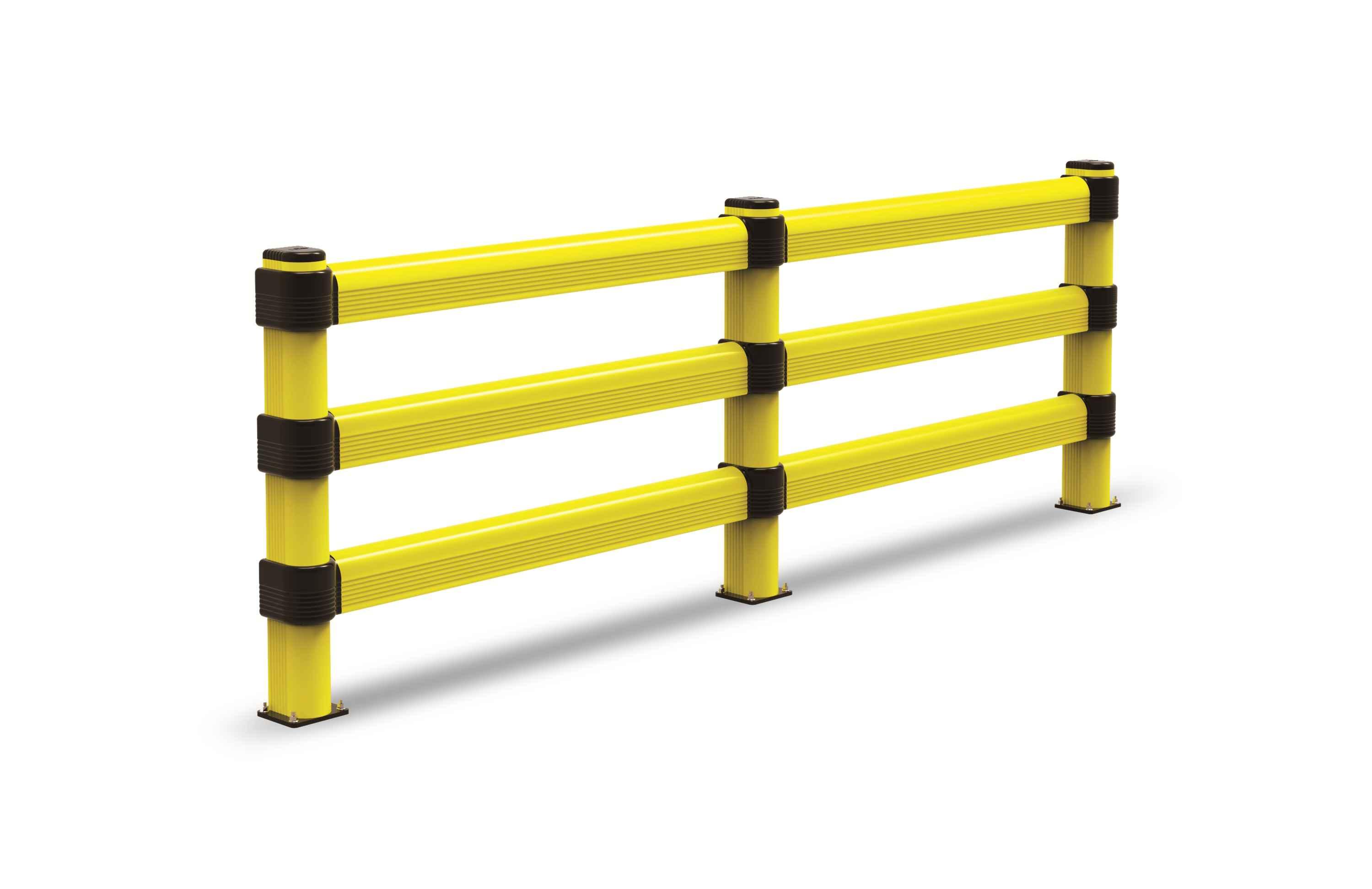 Modułowa elastyczna bariera L3 do dużych obciążeń 1150 mm x mb