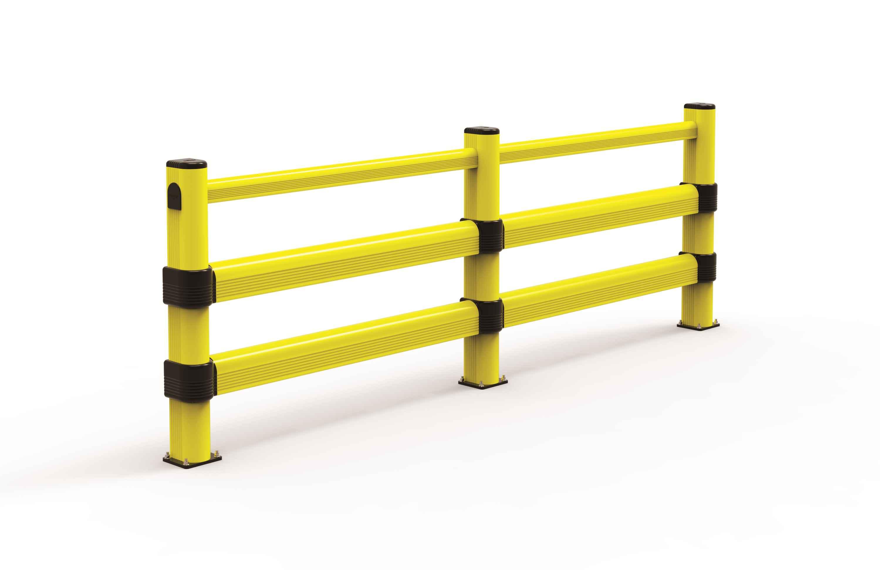 Modułowa elastyczna bariera L2 do dużych obciążeń 1150 mm x mb