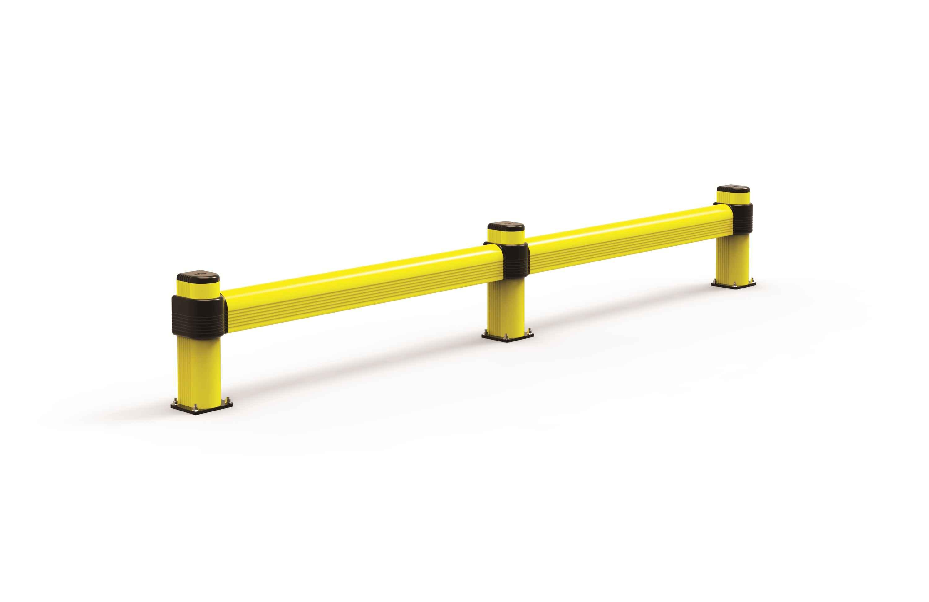 Modułowa elastyczna pojedyncza odbojnica szynowa L 500 mm x mb