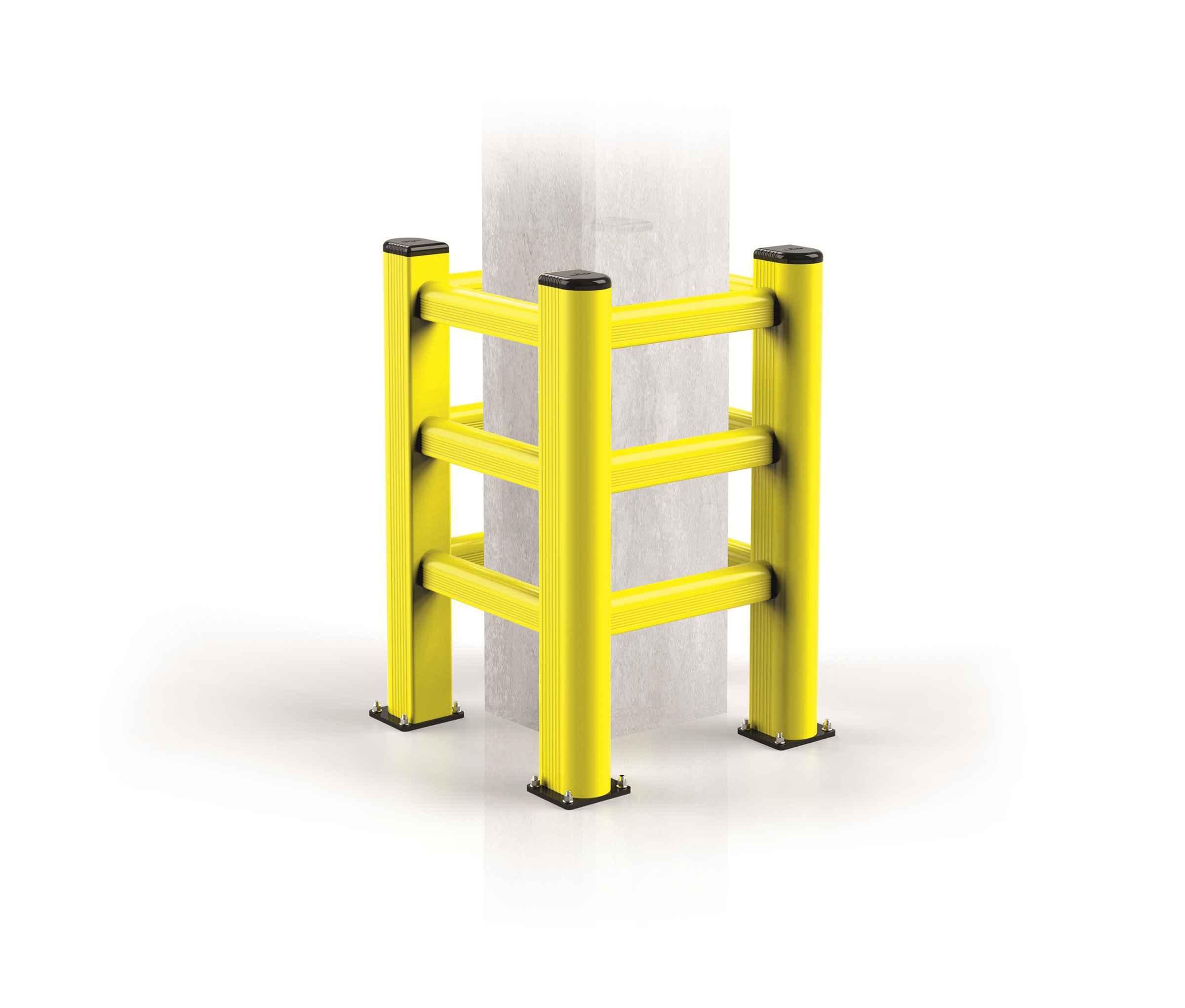 Modułowa elastyczna bariera do ochrony kolumn TP 500 x 500 x 1150 mm