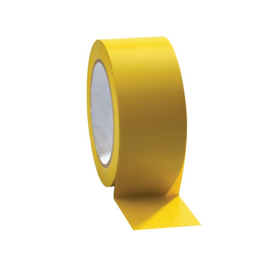 Taśma do wyznaczania ciągów komunikacyjnych 50 mm x 33 m żółta