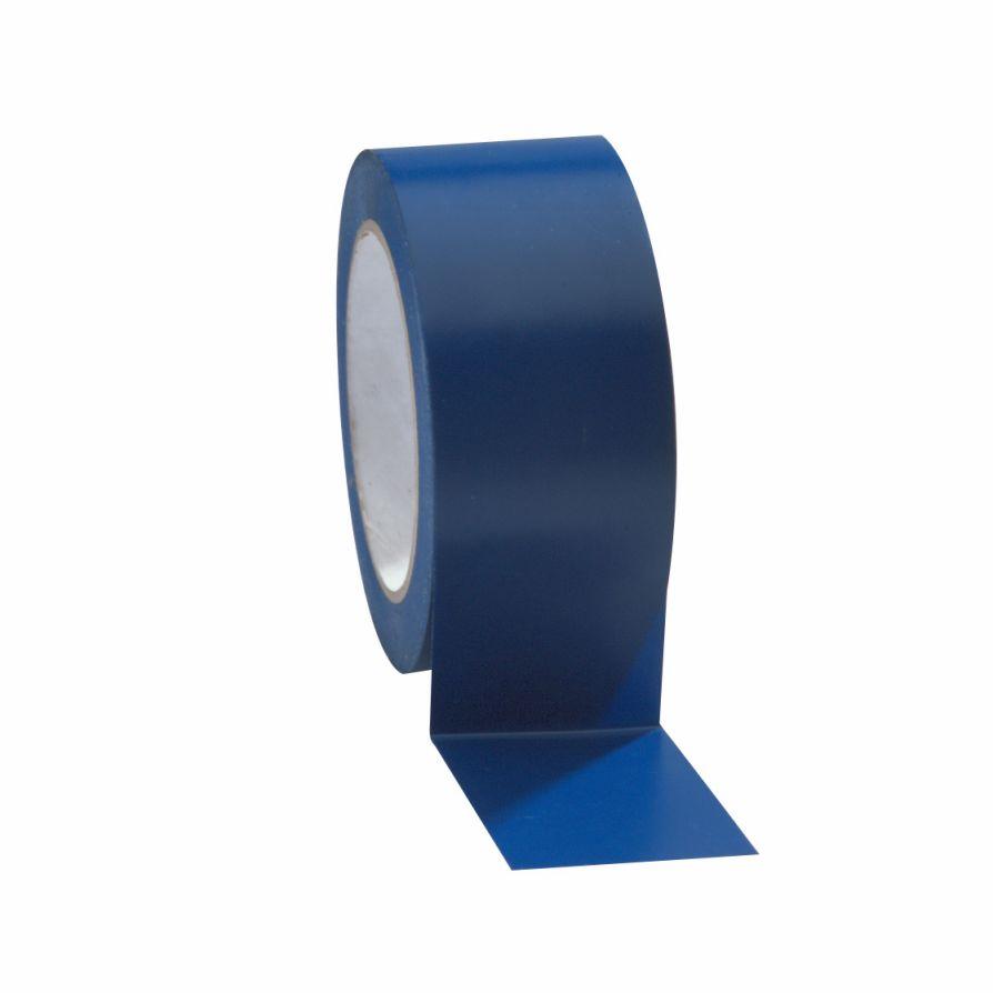 Taśma do wyznaczania ciągów komunikacyjnych 50 mm x 33 m niebieska