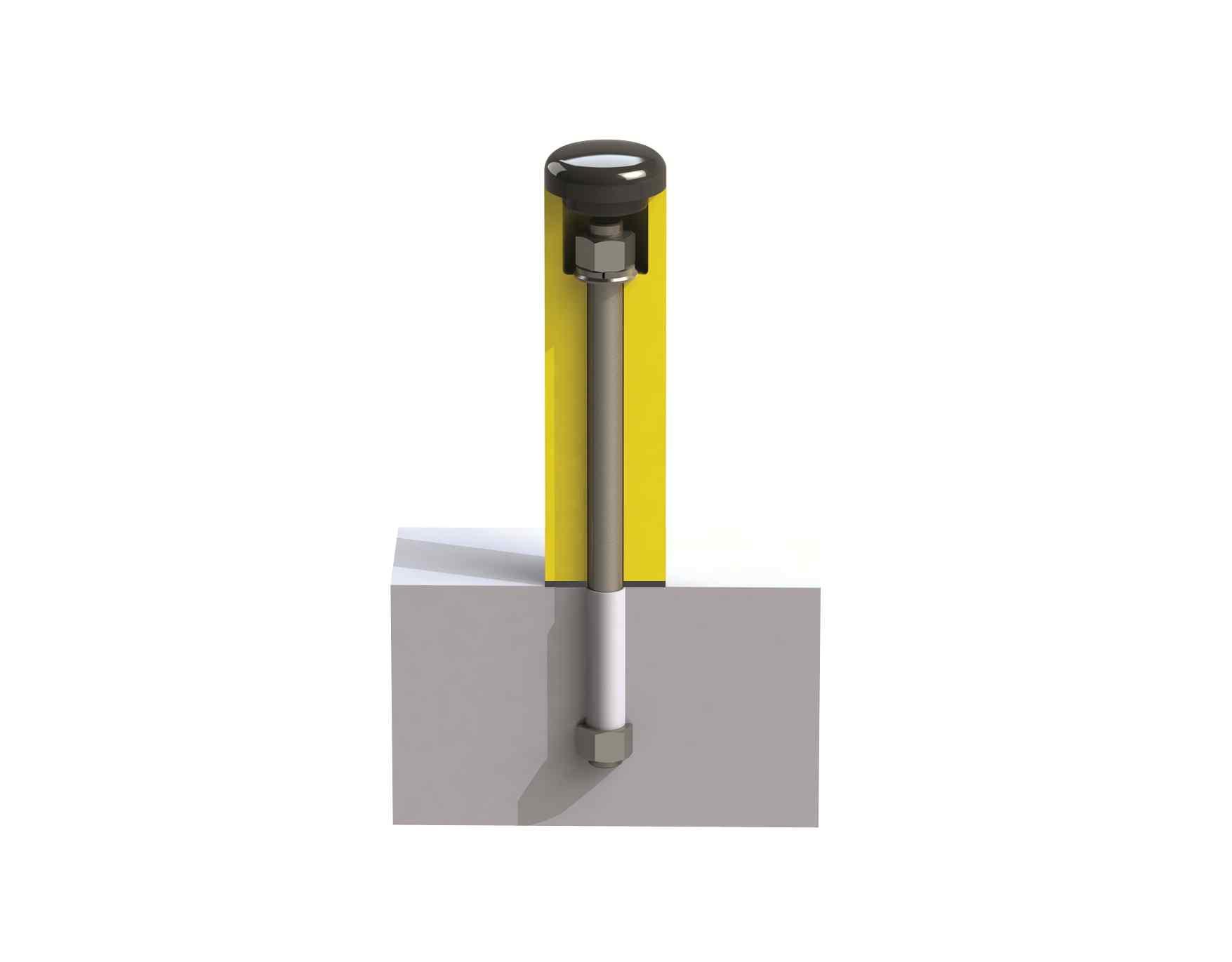 Modułowy elastyczny słup R do niskich temperatur 266 x 71,5 mm