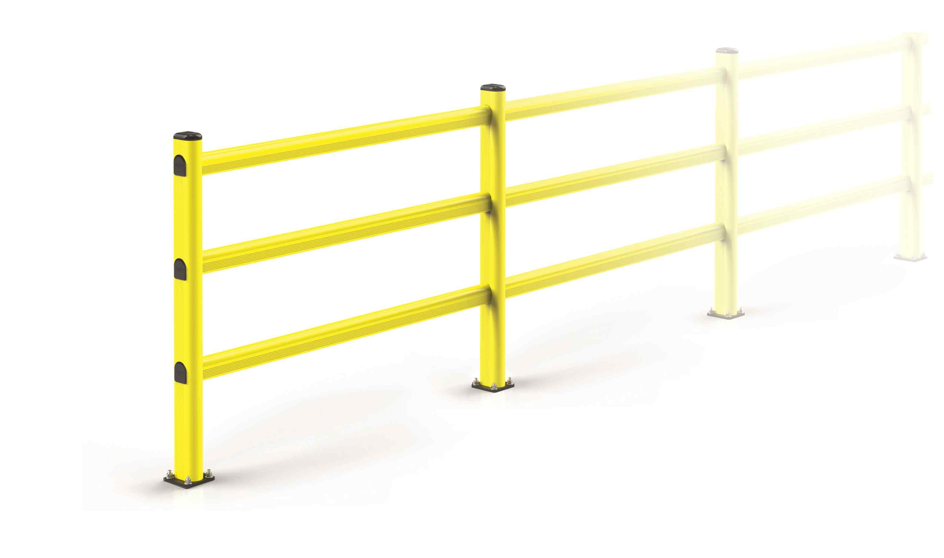 Modułowa elastyczna bariera P1 1150 mm x mb