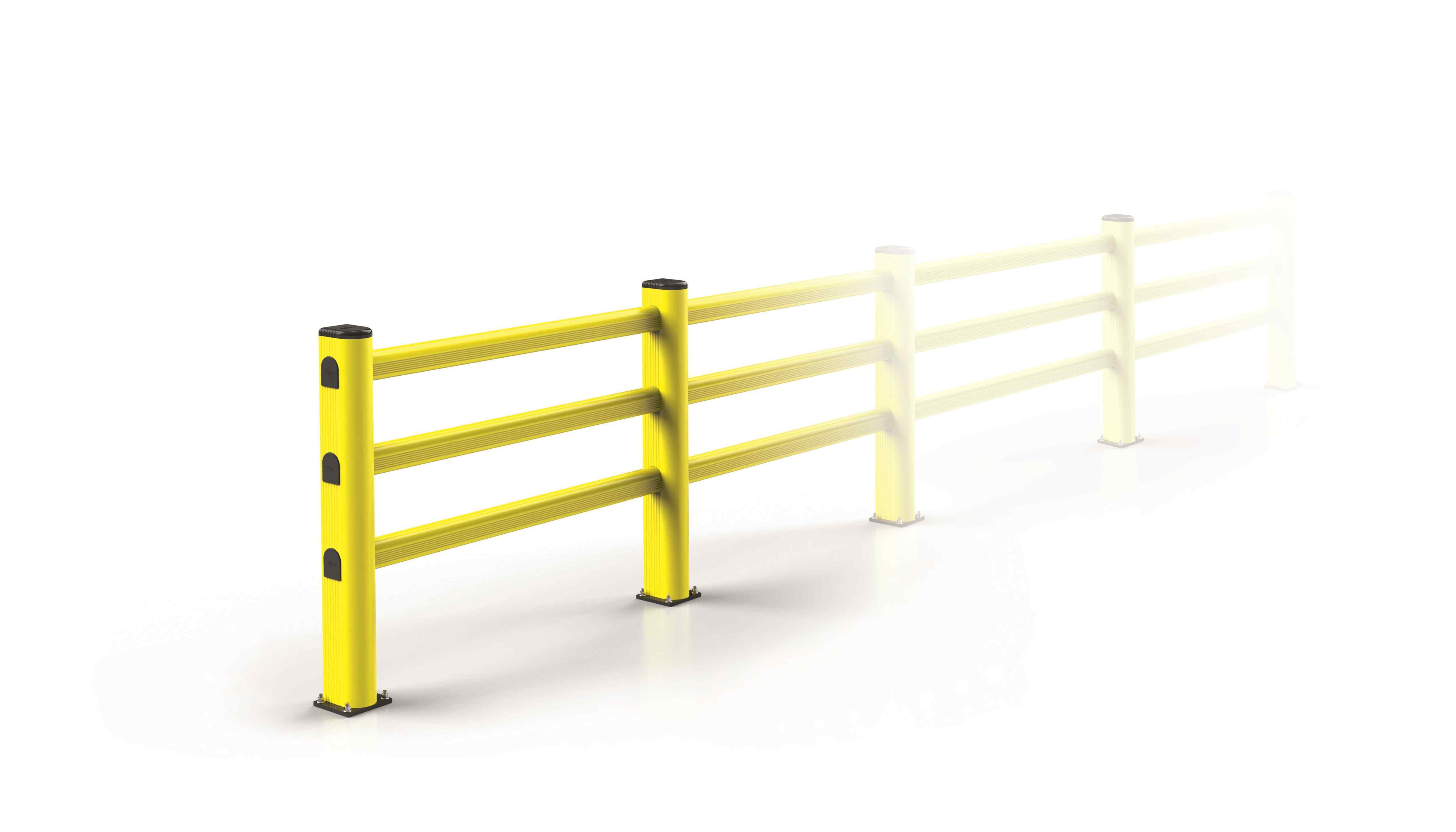 Modułowa elastyczna bariera P2 1150 mm x mb