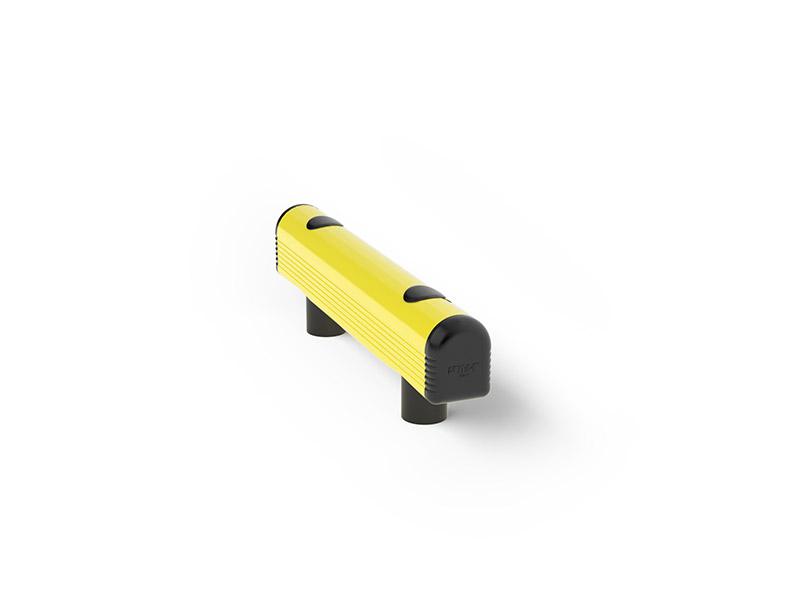 Modułowa elastyczna odbojnica szynowa G 140 x 500 mm - standardowy wymiar