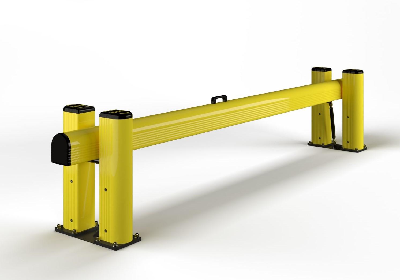 Bramka do zabezpieczenia doków przeładunkowych LB 2,4 - 3 m
