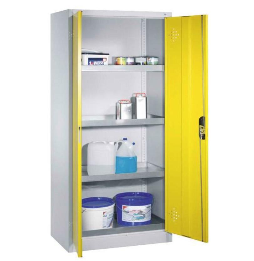 Szafa warsztatowa do przechowywania substancji niebezpiecznych 930 x 500 x 1950 mm