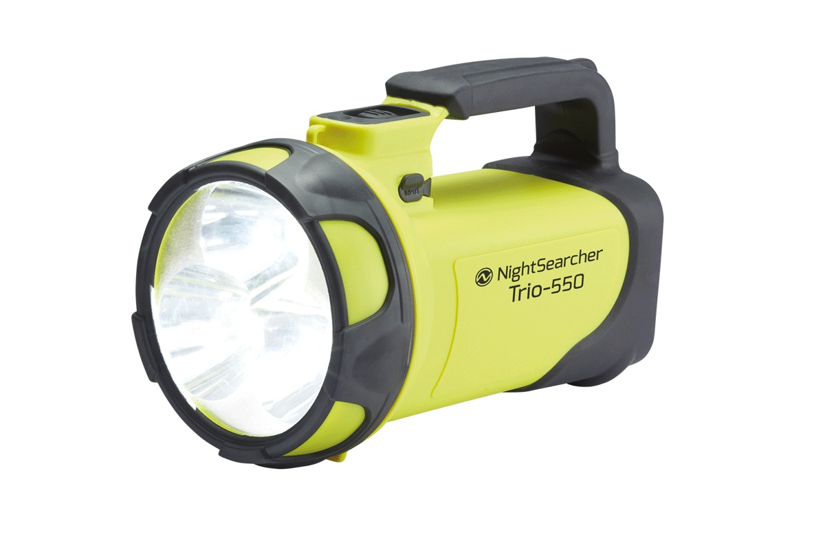 Lampa ręczna LED TRIO 550 z funkcją powerbank