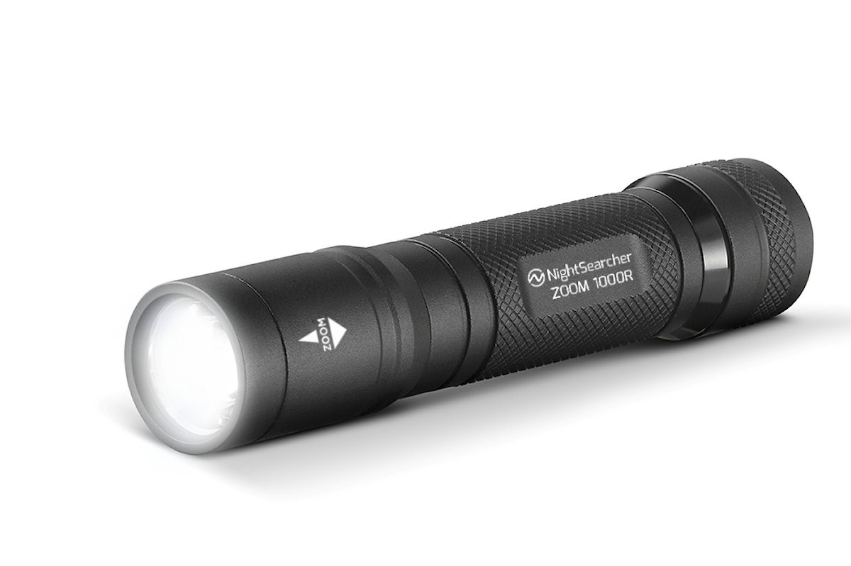 Latarka kieszonkowa LED Zoom 1000R