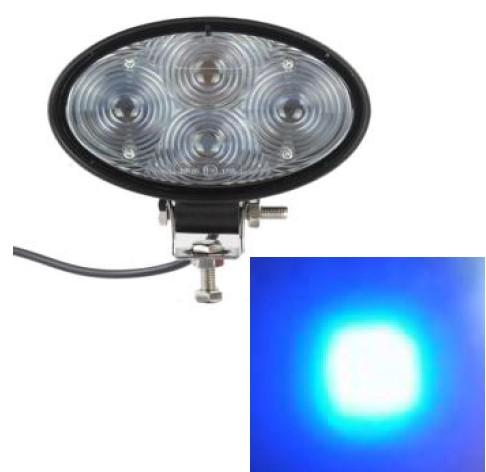 Ostrzegawcze światło LED punktowe 20W niebieskie