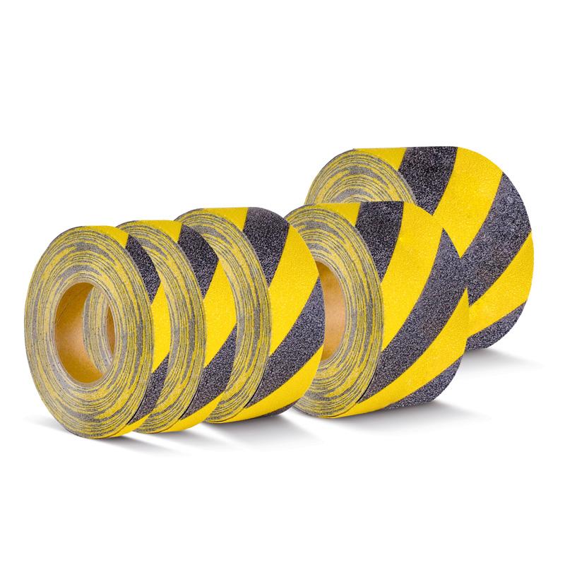 Taśma antypoślizgowa żółto-czarna R10