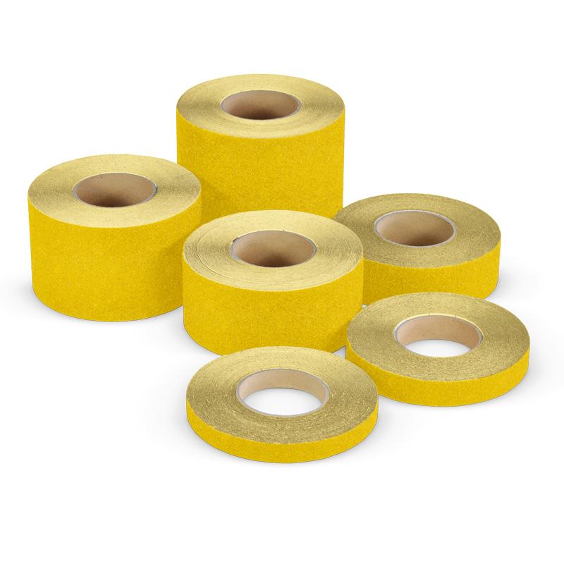 Taśma antypoślizgowa żółta R10