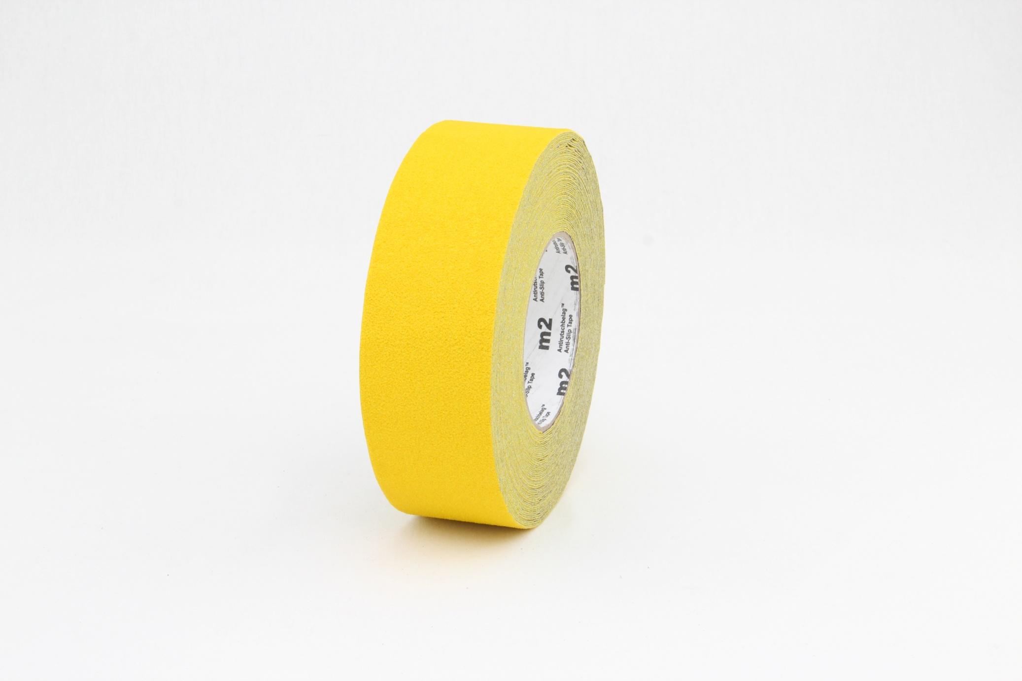Taśma antypoślizgowa elastyczna żółta R13