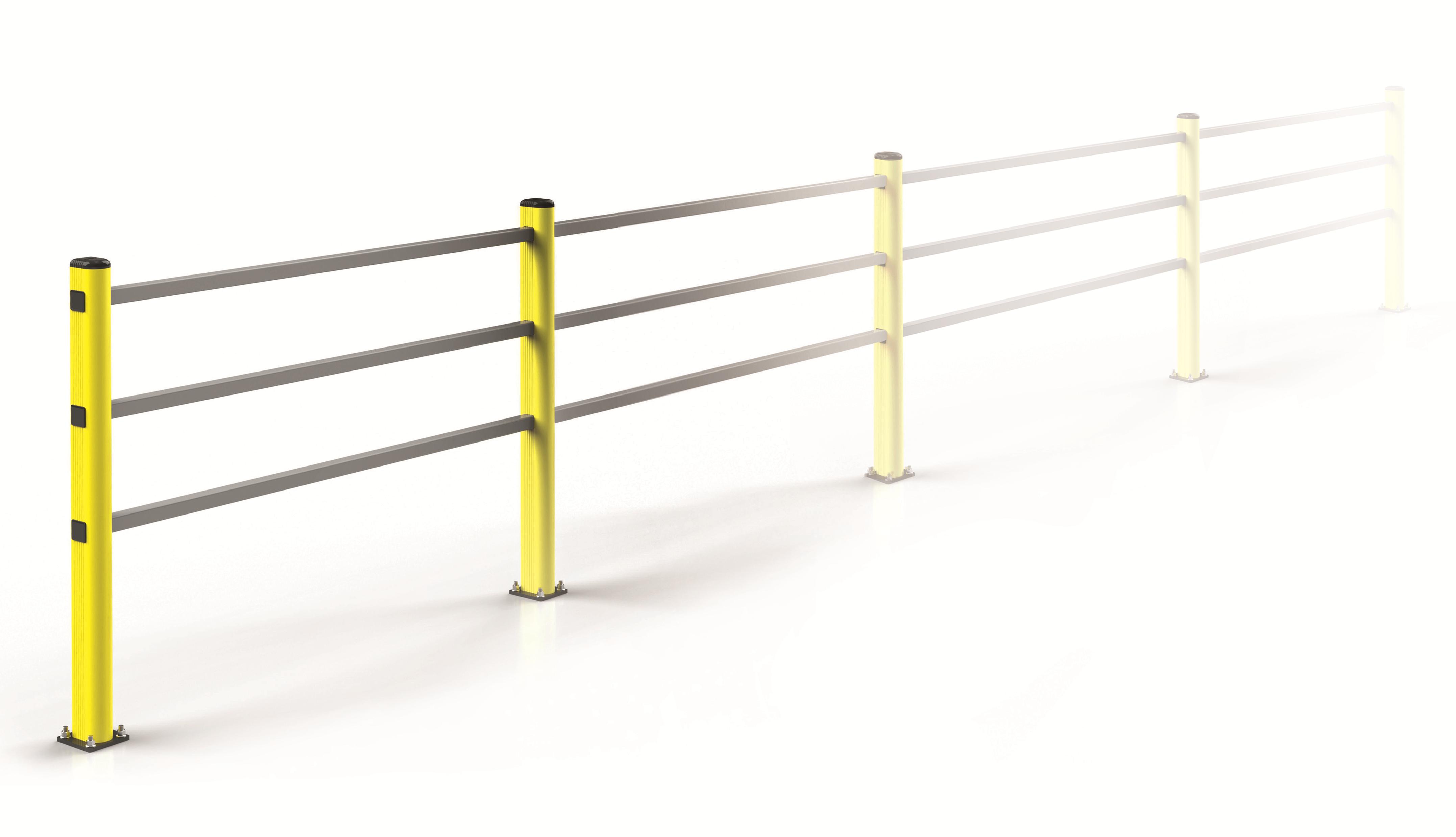 bariera elastyczna dla wózków paletowych