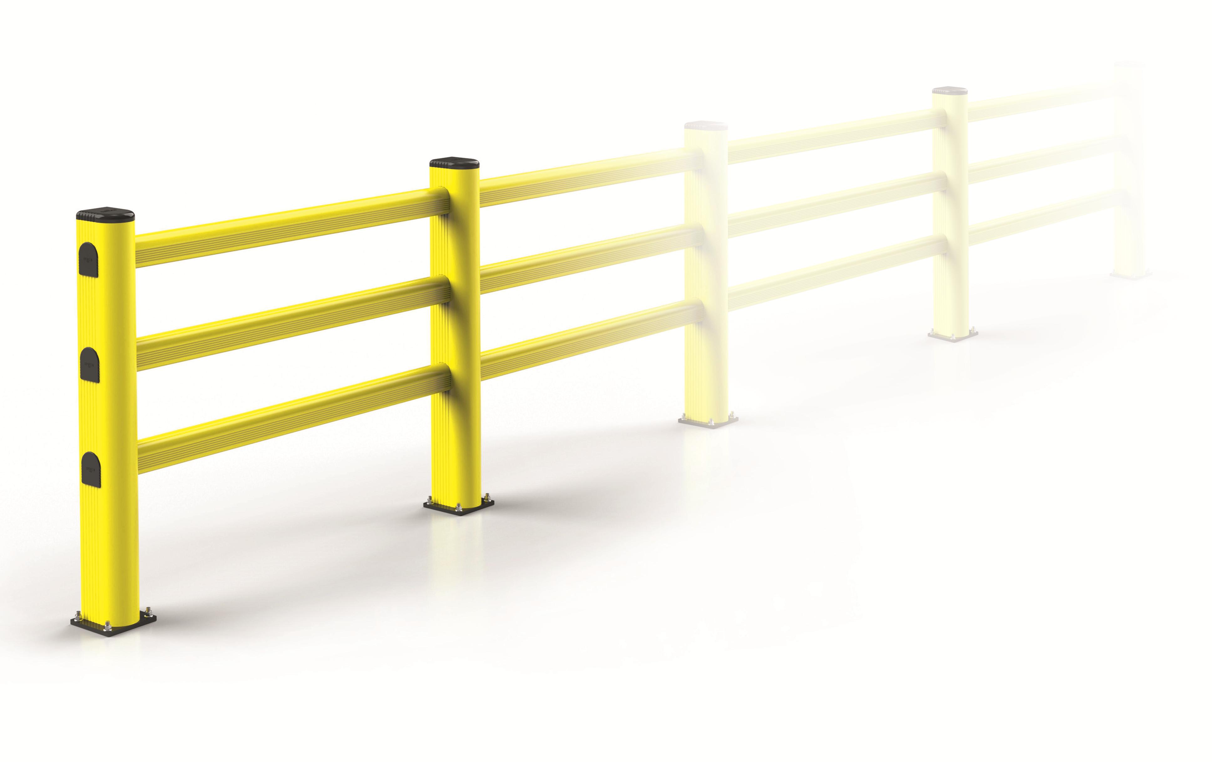 bariera elastyczna dla wózków widłowych