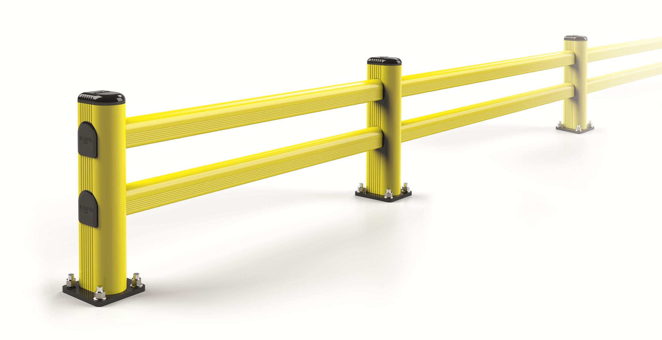 Bariera S przeznaczona do lekkiego ruchu wózków paletowych