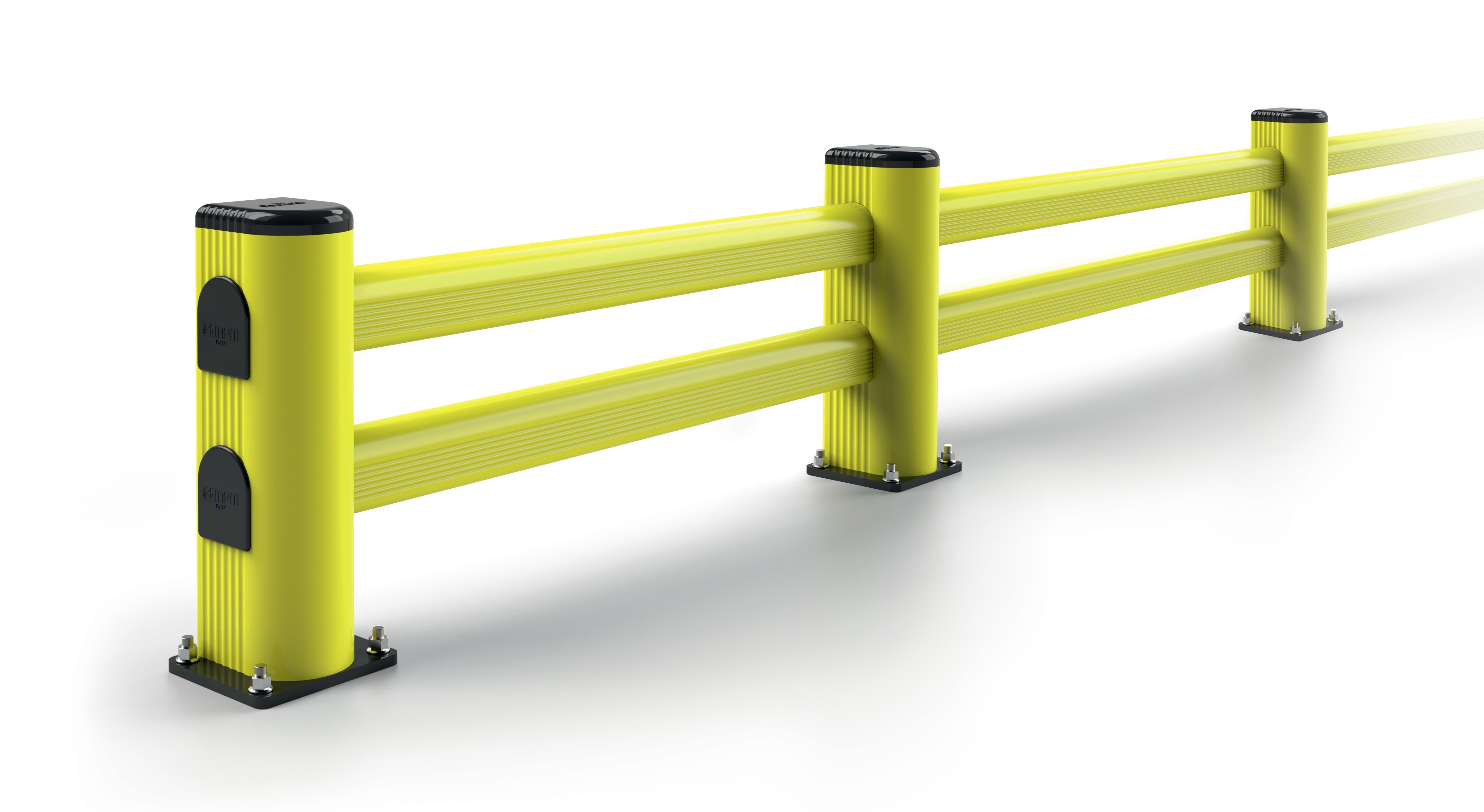 Bariera L przeznaczona do ciężkiego ruchu wózków widłowych