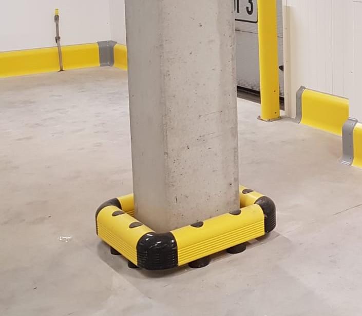 osłona kolumn montowana do podłogi