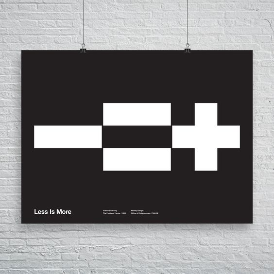 MaiseyDesign — Less is More