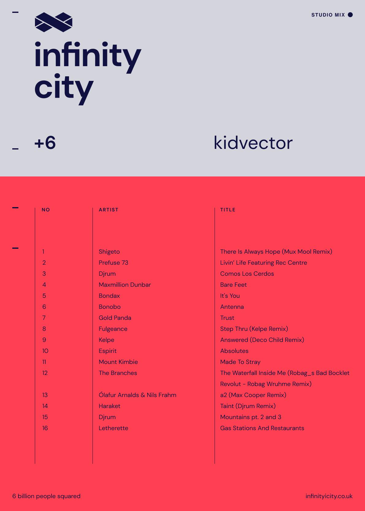 Infinity City + 6 - KidVector