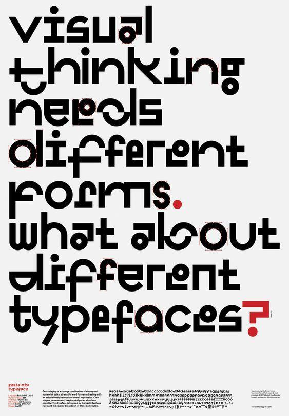 Erman Yilmaz —Gesta Typeface