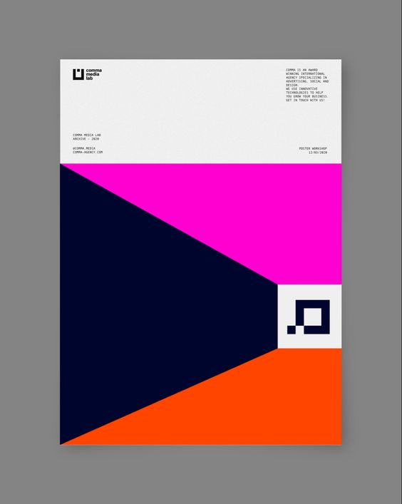 Comma Media —Poster