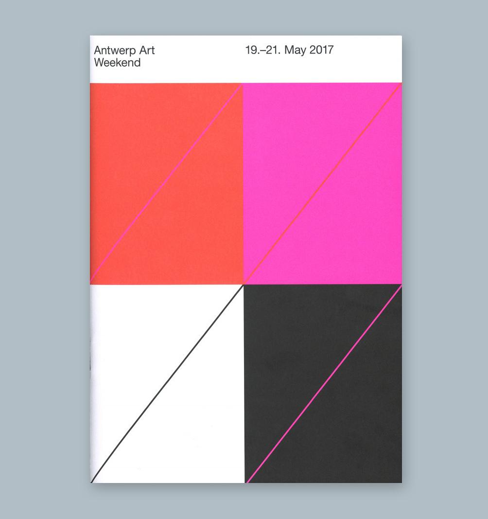 Vrints-Kolsteren —Antwerp Art Weekend Visual Identity