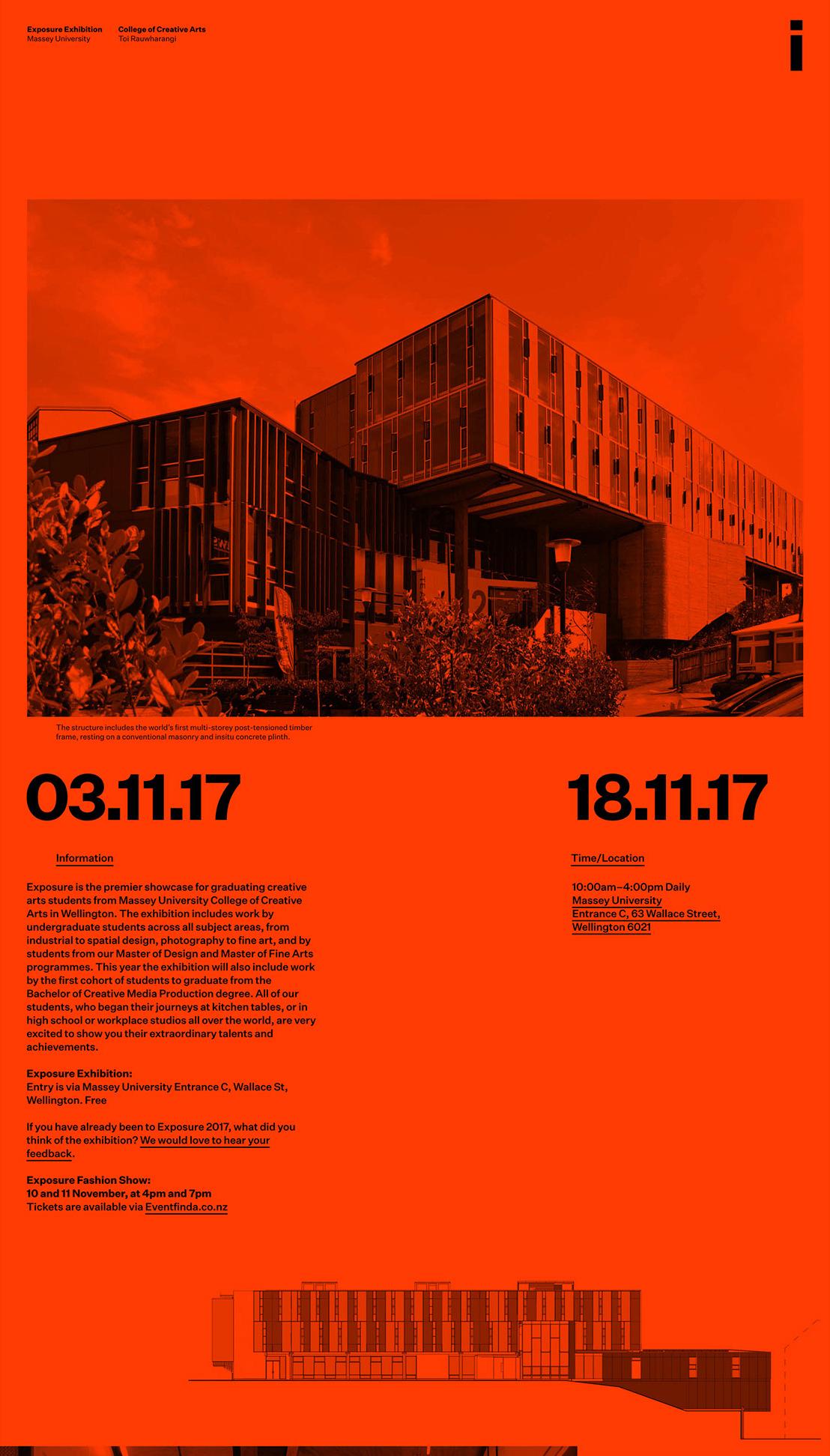 Luke Hoban Jeremy Hooper Raphael Roake  —Massey University Exposure Exhibition