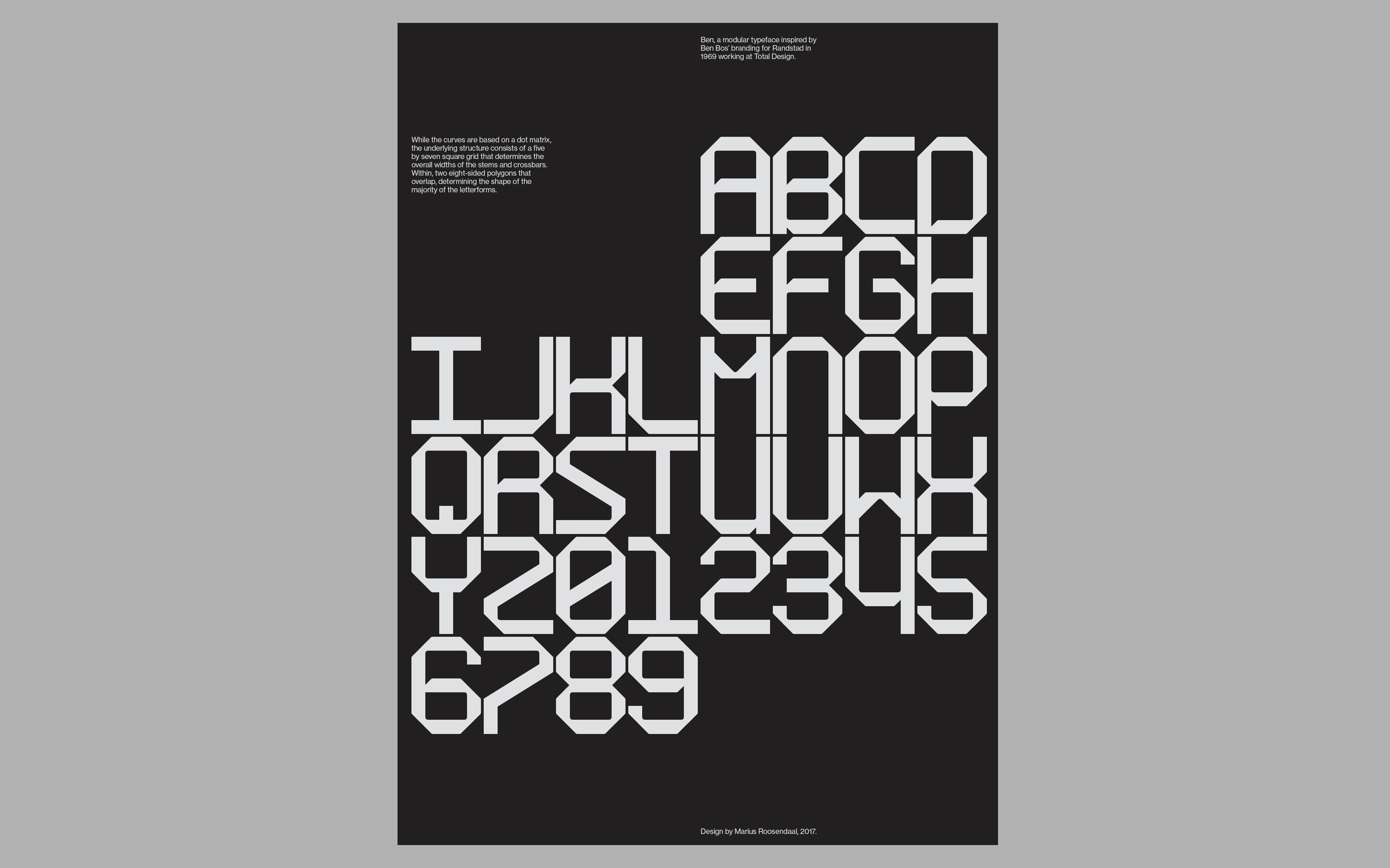 Marius Roosendaal —Bos Poster