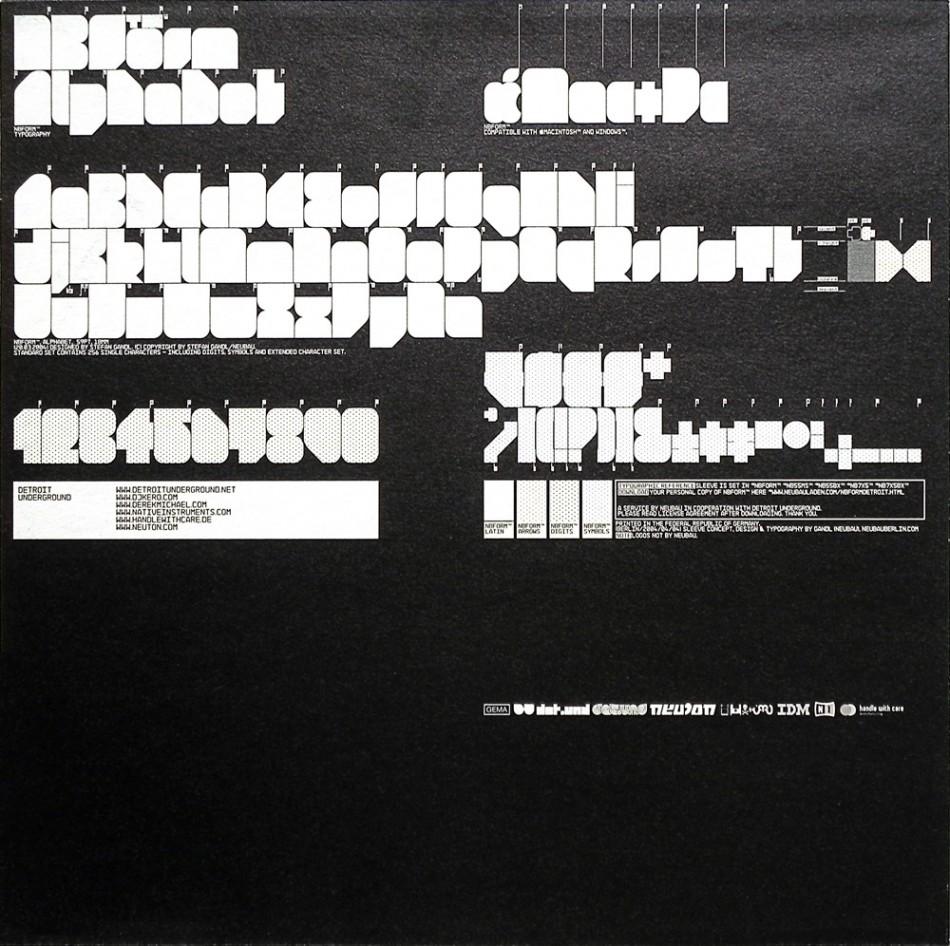Neubau —Detroit Underground Records