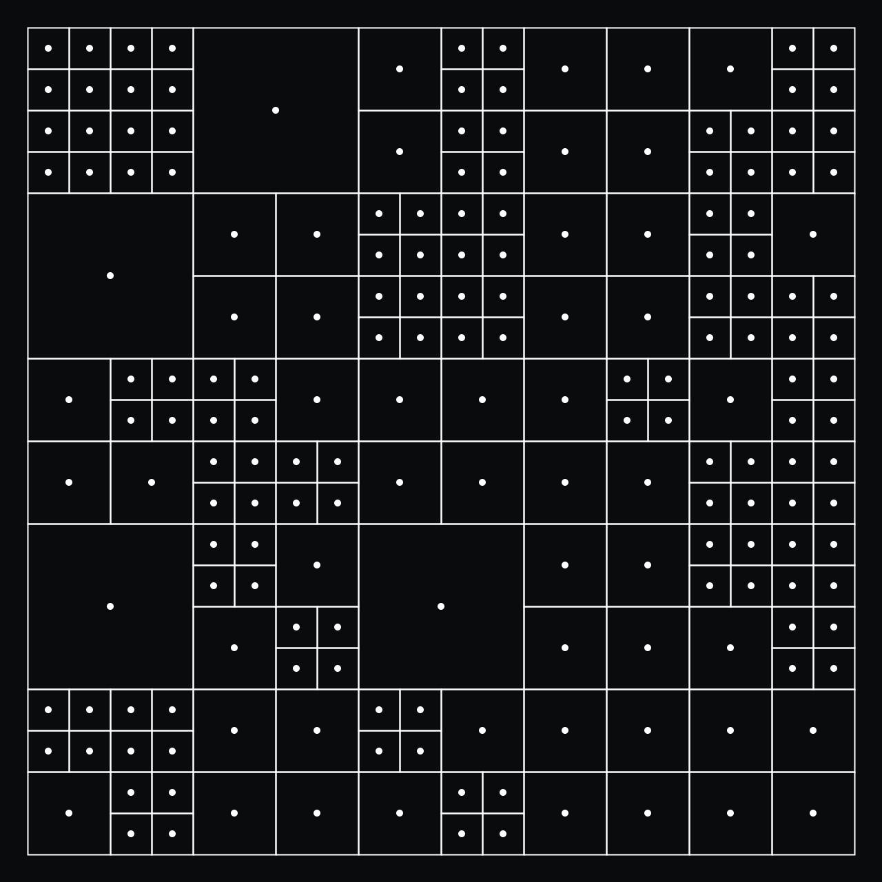 Misha Heesakkers —Generative Irregular Grid