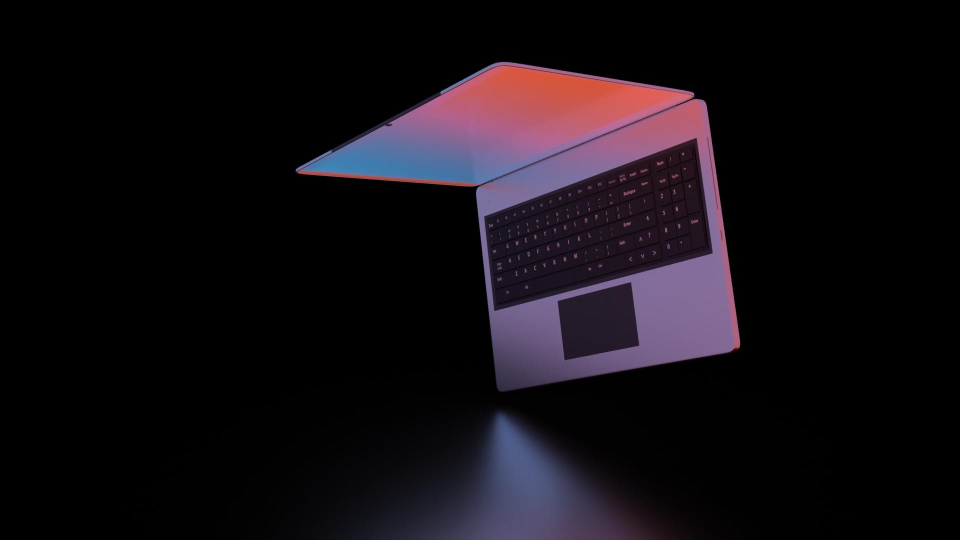 Rendering Laptop ZHACK