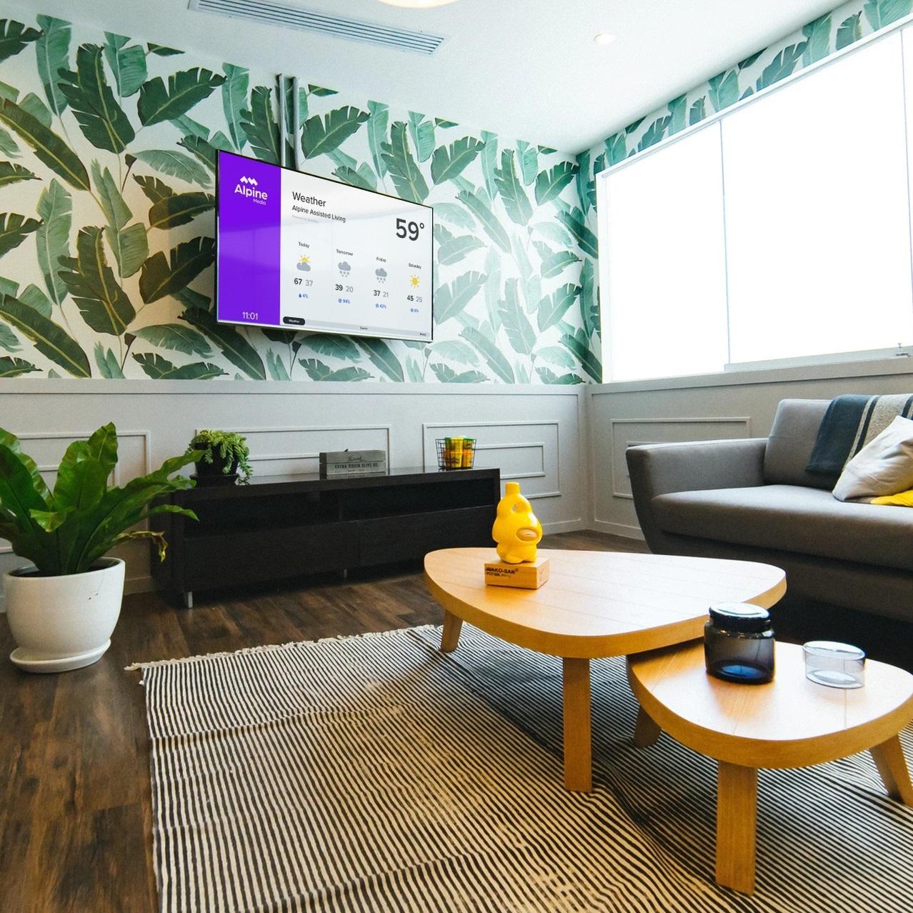 Alpine Media - Senior Living - Indoor Display