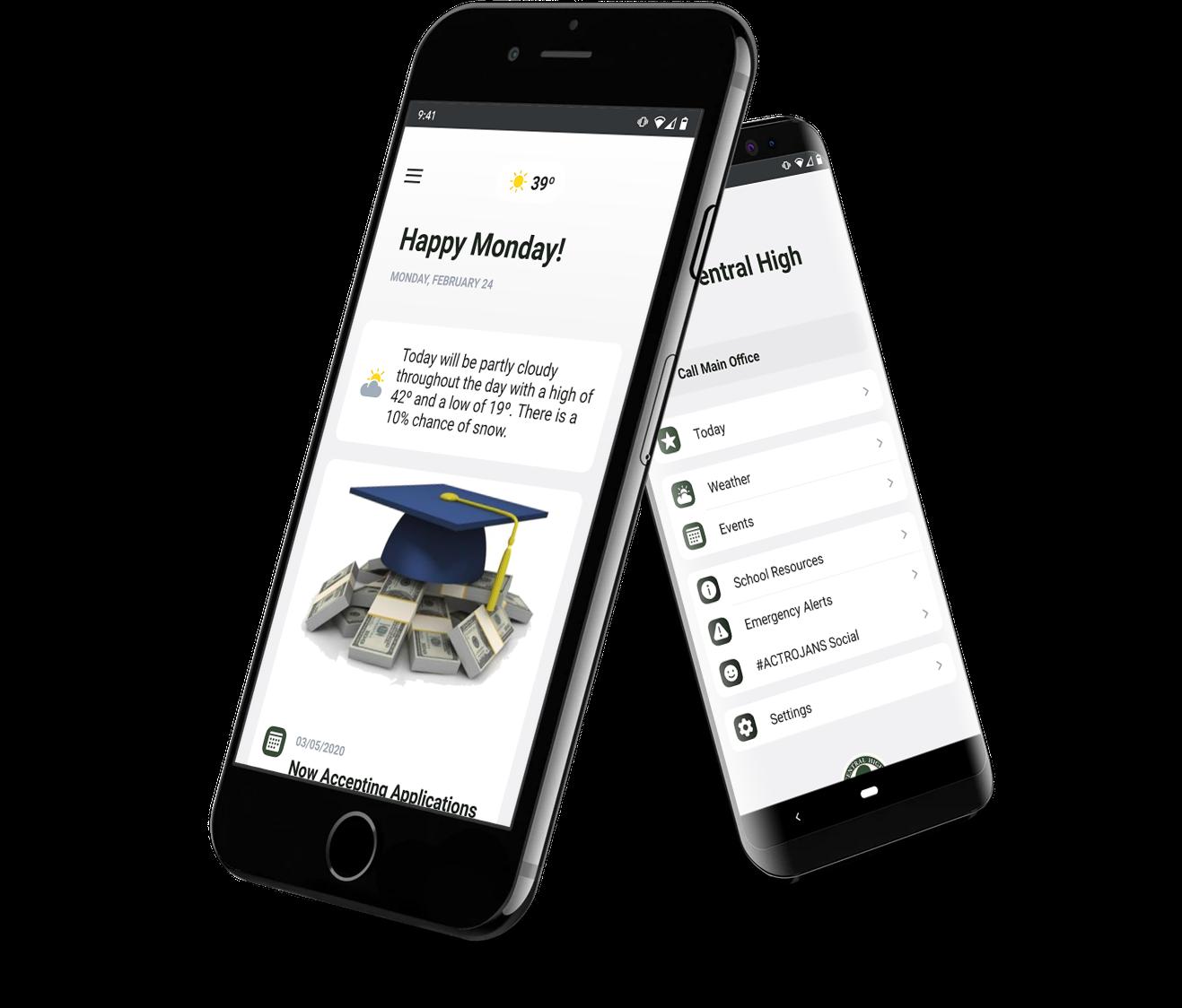 Alpine Media - Mobile app for schools and universities